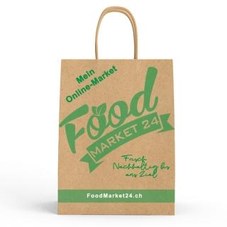 Einkaufstasche - Recyclingpapier -