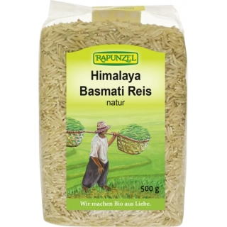Rapunzel Bio Himalaya Basmati Reis natur