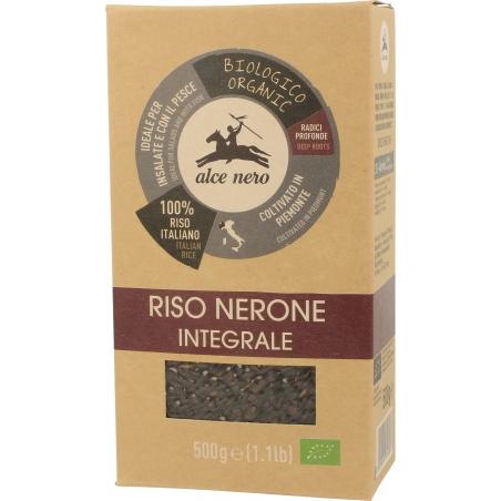 Alce Nero Bio Reis schwarz