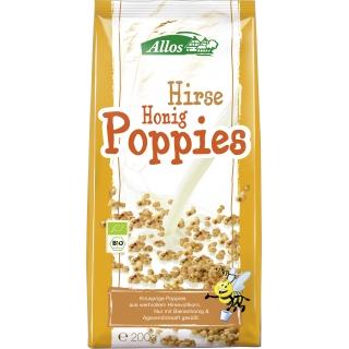Allos Bio Hirse-Honig Poppies