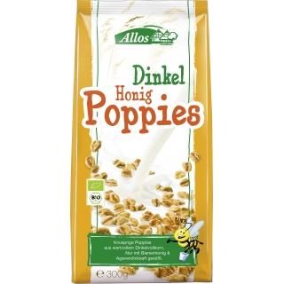 Allos Bio Dinkel-Honig Poppies