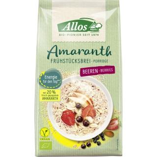 Allos Bio Amaranth Frühstücksbrei Beeren