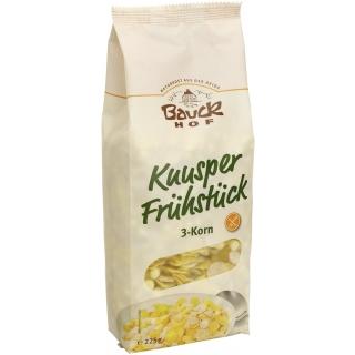 Bauckhof Bio Knuspermüesli 3-Korn glutenfrei