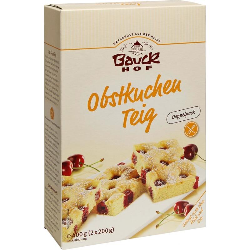 Bauckhof Bio Backmischung Obstkuchenteig glutenfrei