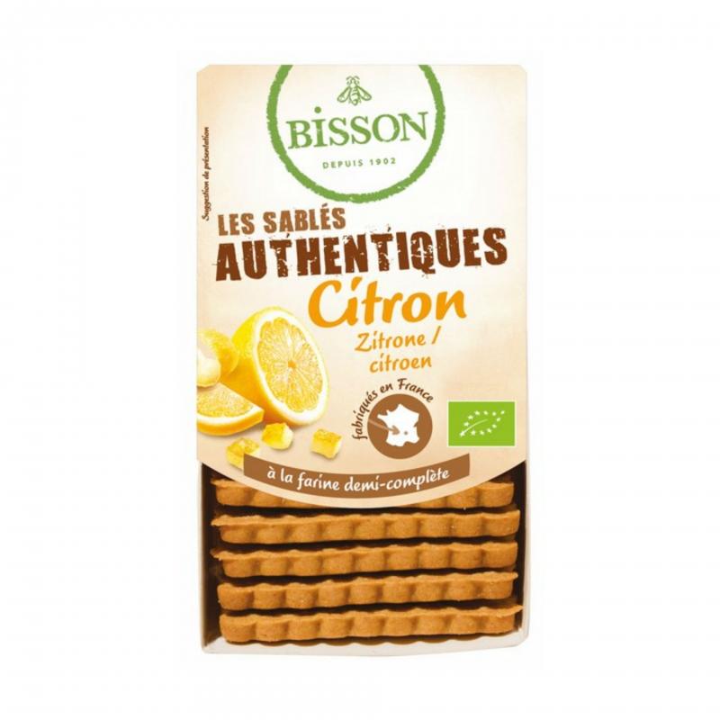 Bisson Bio Kekse Zitrone