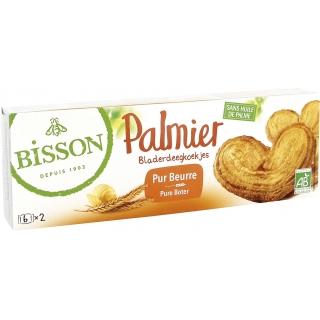 Bisson Bio Palmier - Butter-Blätterteigkeks Prussiens