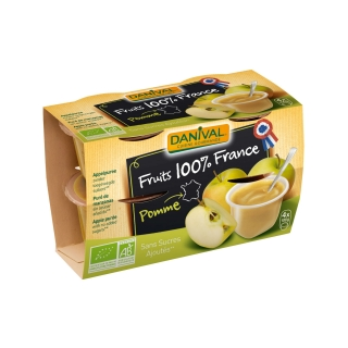 Danival Bio Dessert Apfel ungesüsst