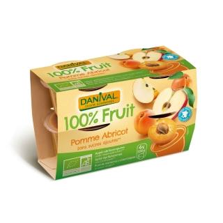 Danival Bio Dessert Apfel-Aprikose ungesüsst