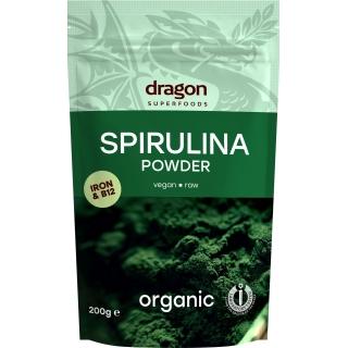 dragon SUPERFOODS Bio Spirulina Pulver