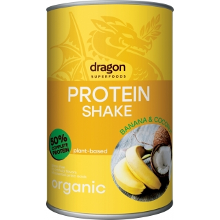 dragon SUPERFOODS Bio Protein Shake Banana und Coconut