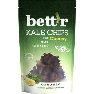 Bett'r Bio Kale Chips Cheesy