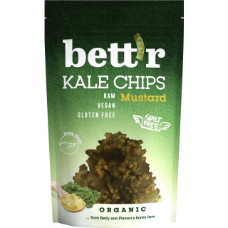 Bett'r Bio Kale Chips Mustard