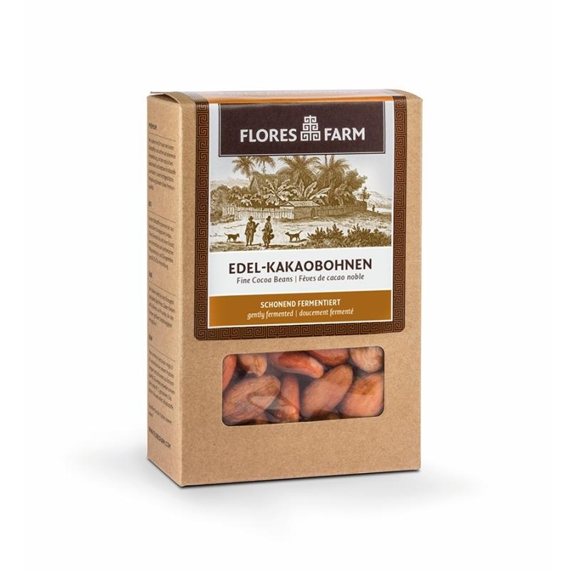 Flores Farm Bio Edel-Kakaobohnen fermentiert