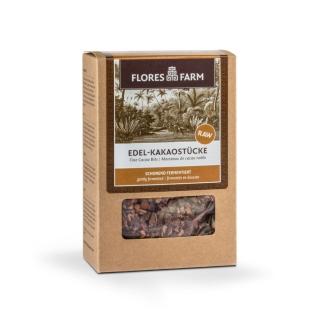 Flores Farm Bio Edel-Kakaostücke