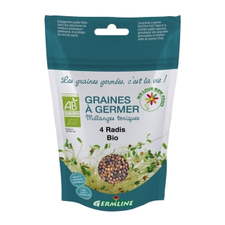 Germline Bio Keimsaat 4 Rettichsorten