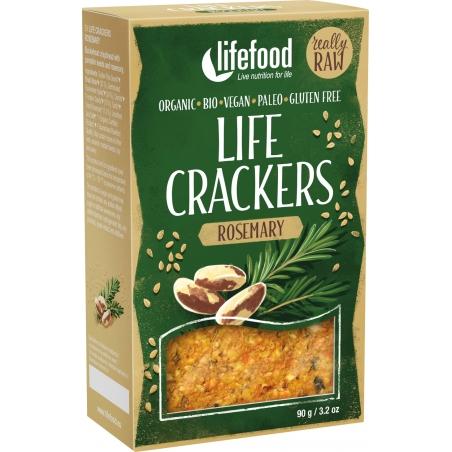 Lifefood Bio Life Crackers Rosmarin