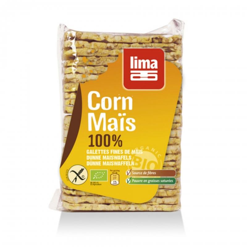 Lima Bio Maiswaffeln dünn