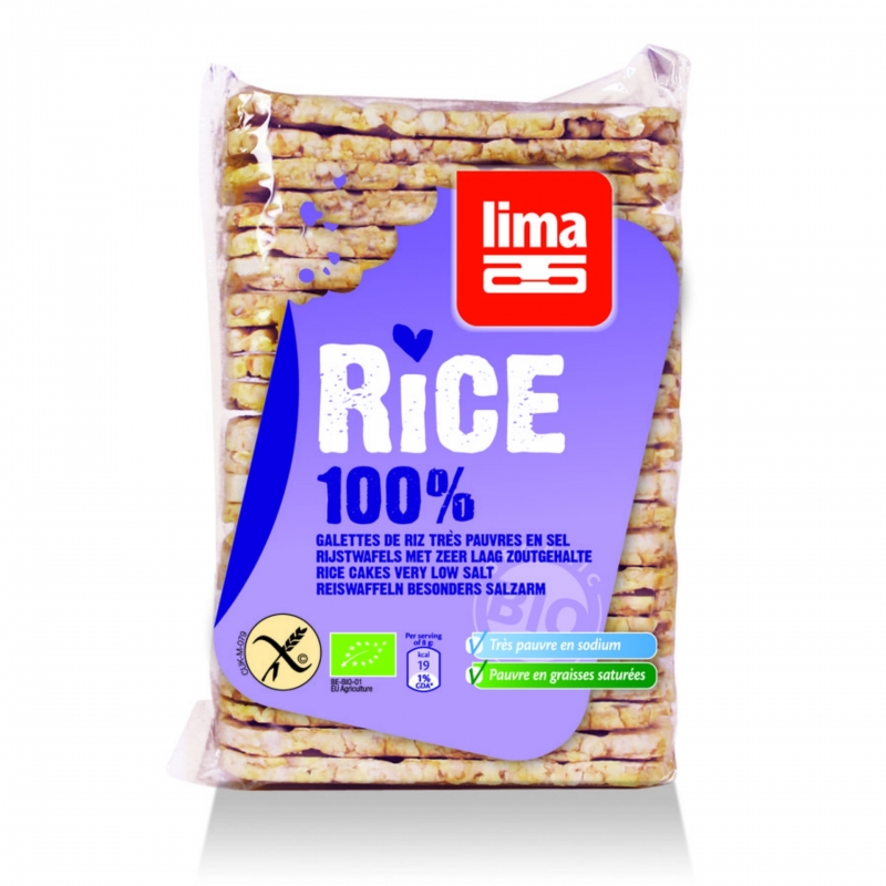 Lima Bio Reiswaffeln dünn
