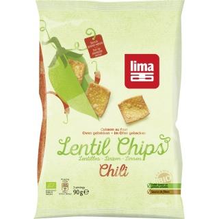 Lima Bio Chips Linsen Chili