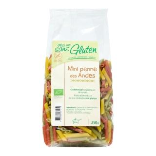 Ma vie sans Gluten Bio Mini Penne der Anden tricolore