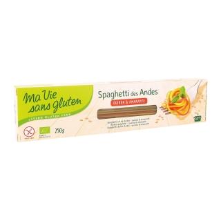 Ma vie sans Gluten Bio Spaghetti der Anden tricolore