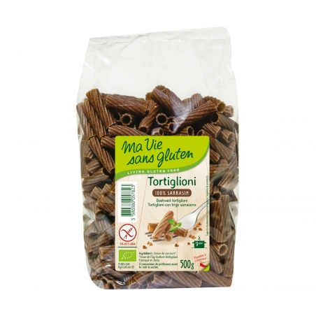 Ma vie sans Gluten Bio Tortiglioni Buchweizen