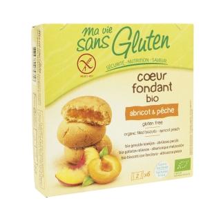 Ma vie sans Gluten Bio Kekse Aprikose-Pfirsich