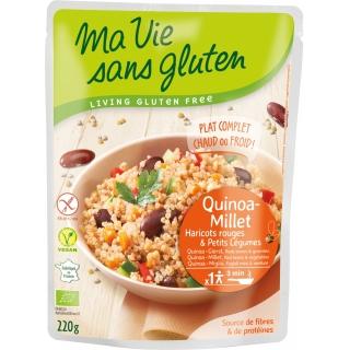 Ma vie sans Gluten Bio Fertiggericht Quinoa Hirse
