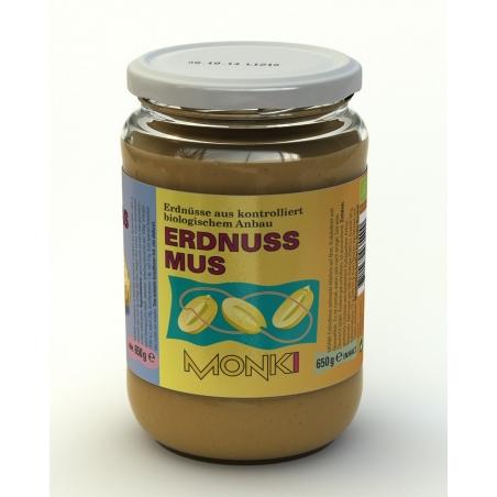 Monki Bio Erdnussmus mit Salz