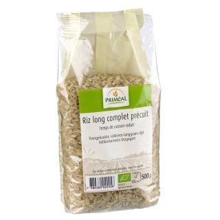 Priméal Bio Reis lang Vollkorn vorgekocht