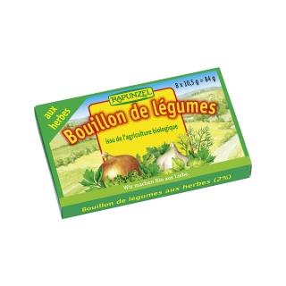 Rapunzel Bio Gemüse-Brühwürfel Kräuter