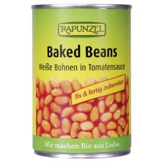 Rapunzel Bio Baked Beans weisse Bohnen in Tomatensauce