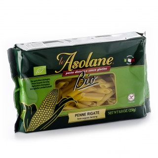 Le Asolane Bio Penne Rigate Mais glutenfrei