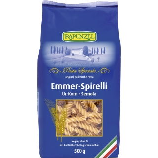 Rapunzel Bio Emmer-Spirelli semola