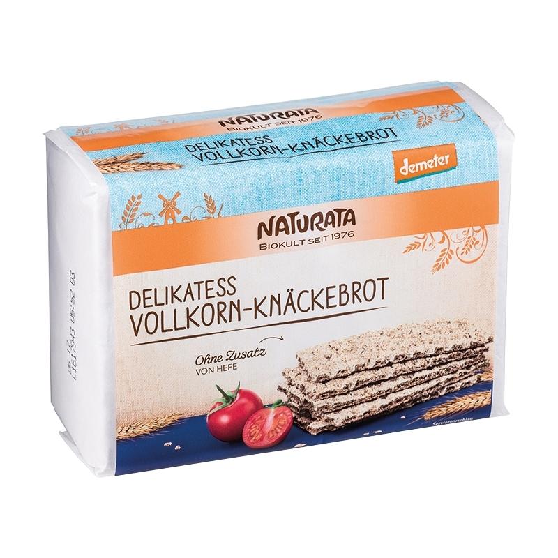Naturata Bio Demeter Knäckebrot Vollkorn Delikatess