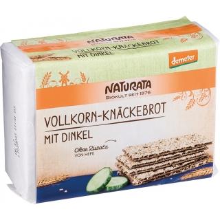 Naturata Bio Demeter Knäckebrot Vollkorn mit Dinkel
