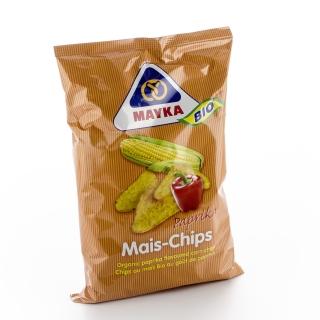 Mayka Bio Mais Chips mit Paprika