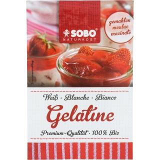 SOBO Naturkost Bio Gelatine weiss gemahlen