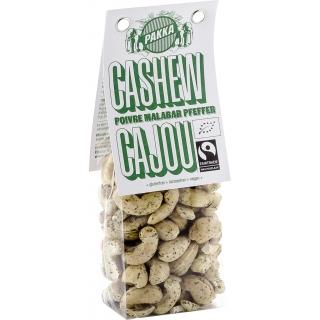 Pakka Bio Cashewnüsse mit Malabar Pfeffer
