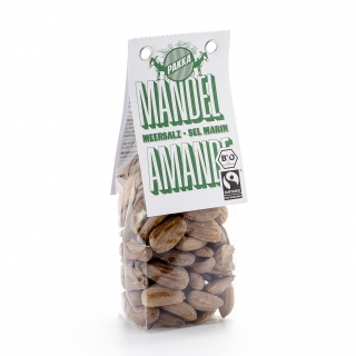Pakka Bio Mandeln mit Meersalz