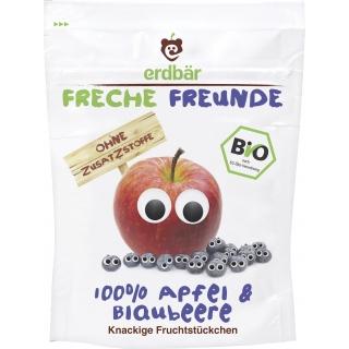 Freche Freunde Bio Fruchtchips Apfel und Blaubeere