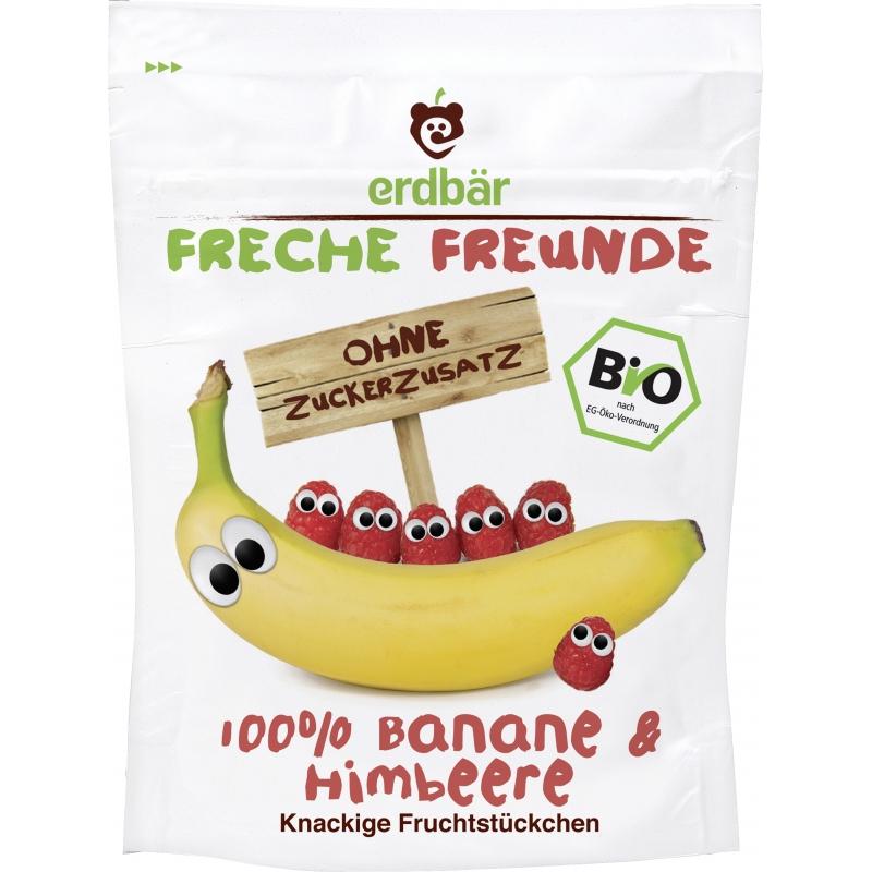 Freche Freunde Bio Fruchtchips Banane und Himbeere