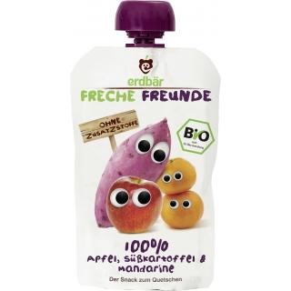 Freche Freunde Bio Quetschmus Apfel