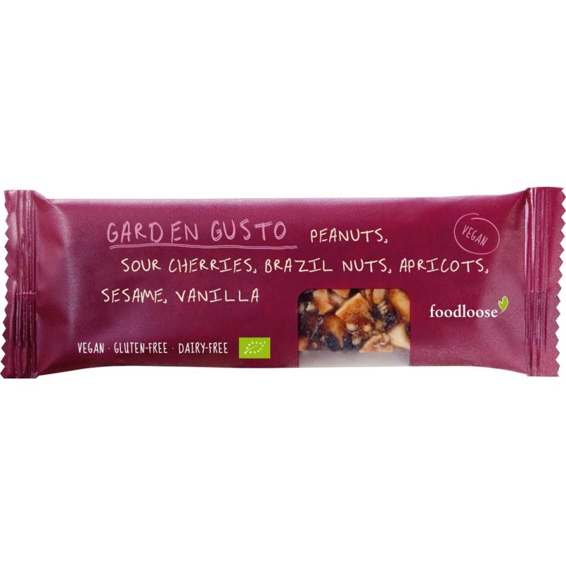 Foodloose Bio Nussriegel - Garden Gusto
