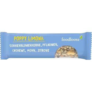 Foodloose Bio Poppy Limona - Nussriegel