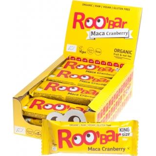 Roobar Bio Rohkostriegel Maca Cranberry