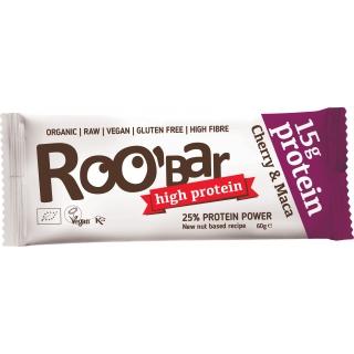 Roobar Bio Rohkost Protein Riegel Cherry und Maca