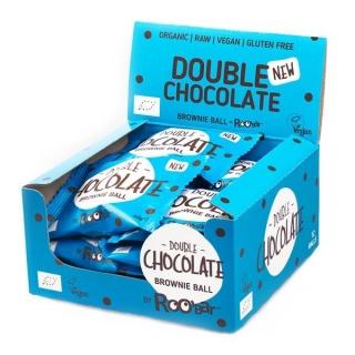 Roobar Bio Brownie Ball Double Chocolate