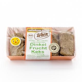 Werz Bio Dinkel Frucht Kekse ohne Süssung