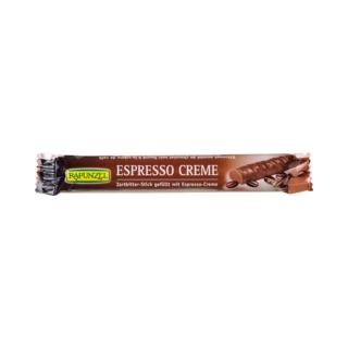 Rapunzel Bio Zartbitter-Schokolade-Stick mit Espresso-Creme